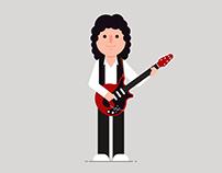 Os Brian May do meu imaginário