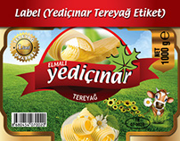 BUTTER LABEL (TEREYAĞ ETİKETİ)