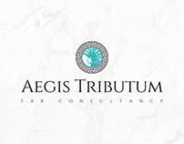 Aegis Tributum: Logo & Letter Head Design
