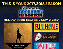 Broadway in Boston 17/18 Season