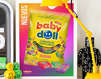 Baby Doll - Caramelos Masticables