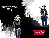 Levis Jean's 501