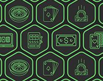 Page de site Casino Hex machines à sous