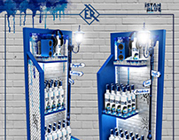 Istanblue Vodka Stand