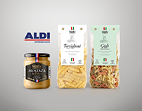Packaging Design for Aldi Spain