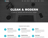 Atulya-Multi Purpose WordPress Business Theme