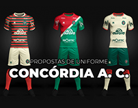 SOCCER KIT // Concórdia Atlético Clube