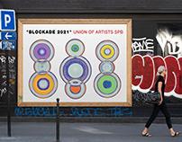 "Expo Design # ""BLOCKADE 2021"" Union of Artists SPB"