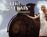 The Girl on a Train: A Fashion Photoshoot