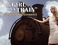 The Girl on a Train: A Fashion Photoshoot