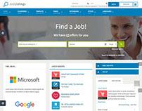 JM Job Listings Joomla Job Seekers Portal Template