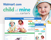 Walmart.com - Carter's hotsite