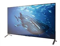 3d model: 4K Bravia X900C TV by Sony
