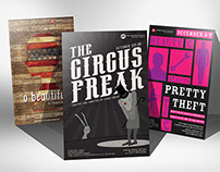 Theatrical Posters - Ira Brind School of Theatre Arts
