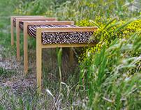HALUZ long bench
