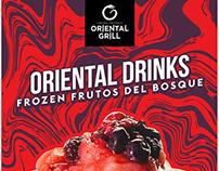 Oriental Grill / Social media
