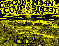CAPGUN COUP X M34N STR33T X BROTHERS LOUNGE