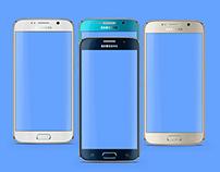 Freebie: Samsung Galaxy S6 Psd Mockup