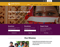 Bangla Ministries Worldwide | Website and Logo