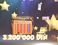 National Lottery Serbia GrebGreb advert