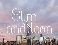 Slim Neon - Typography