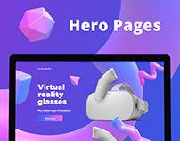 Hero Pages Concepts