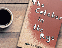 """Catcher in the Rye"" book cover"