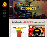 Sabor Fish Taco | Web Design