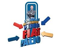 """Campanha """"Todos os momentos pedem Fiat Palio."""