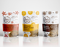 Branding Identity & Package Design for Eve's Crackers