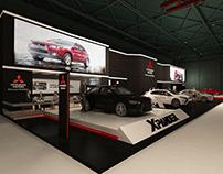 Mitsubishi booth automech - formula exhibition 2018