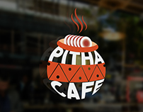 Logo Made for Pitha Cafe