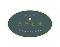 Cyan Soda Brand