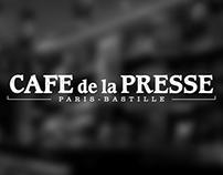 Café de la Presse - Paris // Logo and branding