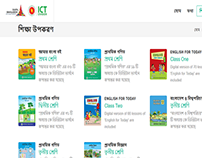 Digital content website for Bangladesh government