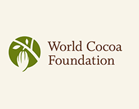 World Cocoa Foundation Logo & Branding