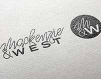 Mackenzie & West Branding