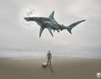 Compositing | Manipulation - Surfers not Allowed.
