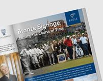 Golf Business Magazine Advert