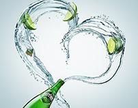 Perrier Lime Water Splash