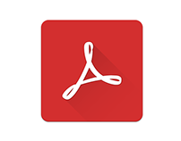 Adobe Reader Material icon