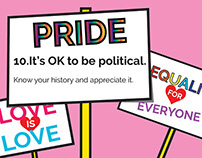 Tips for Pride: GIf Series