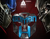 Flyer - Bomba H a Festa 2012