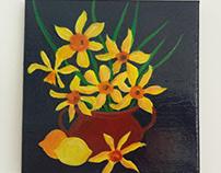 """ Golden Daffodils """