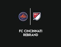 FC Cincinnati MLS Rebrand