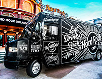 Hard Rock Cafe food truck design by customchalk.com