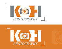 Logo Design | K H PHOTOGRAPHY
