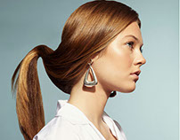 Contemporary Coiffure for Lucy's Magazine
