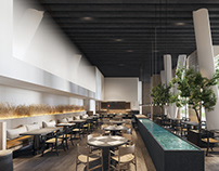 Greek luxury restaurant at Washington, DC by V. Bonios
