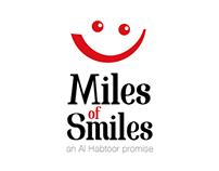 Miles of smiles - Logo